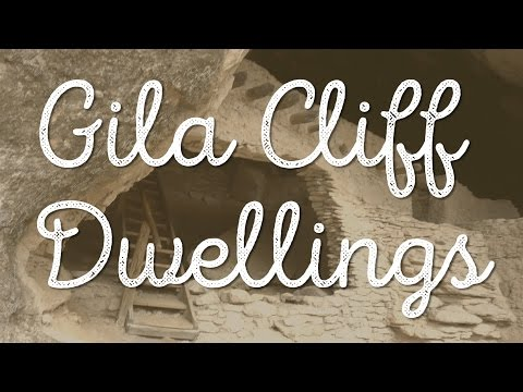 GILA CLIFF DWELLINGS NATIONAL MONUMENT + HOT SPRINGS!! VLOG: 156