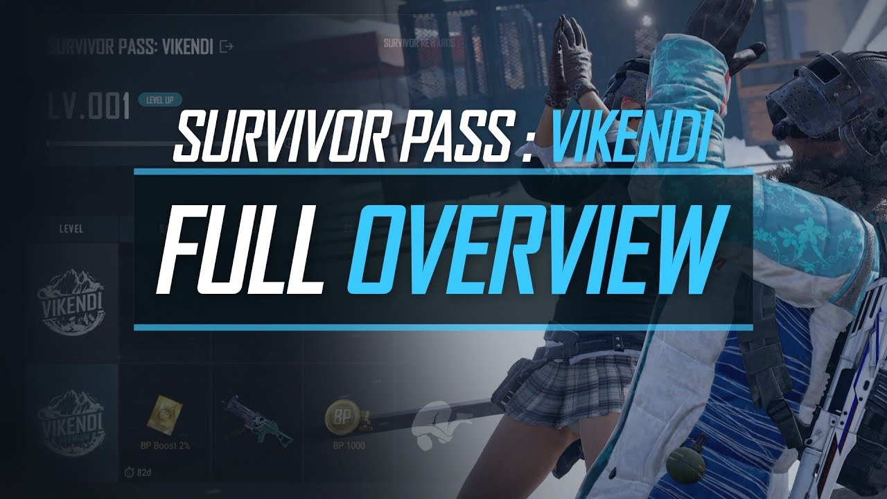 Pubg Survivor Pass Vikendi Full Overview Youtube