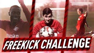 FREEKICK CHALLENGE VS SPARTAK MOSCOW