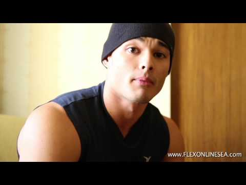 IFBB PRO Jeremy Buendia Interviewig with FLEXSEA the day before his Olympia Debut