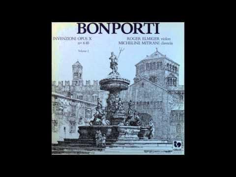 BONPORTI, Invenzioni Opus X No.6 - NO 10, SIDE  2