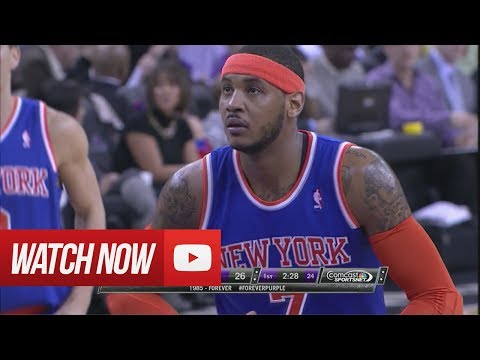 2014.03.26 - Carmelo Anthony Full Highlights at Kings - 36 Pts