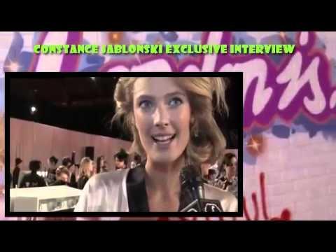 Constance Jablonski Exclusive Interview Victoria's Secret Fashion Show 2014-2015