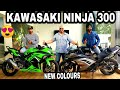 KAWASAKI NINJA 300 NEW COLOURS LAUNCHED | CHEAP BUDGET BIKE | KAWASAKI WEST DELHI | JD VLOGS DELHI