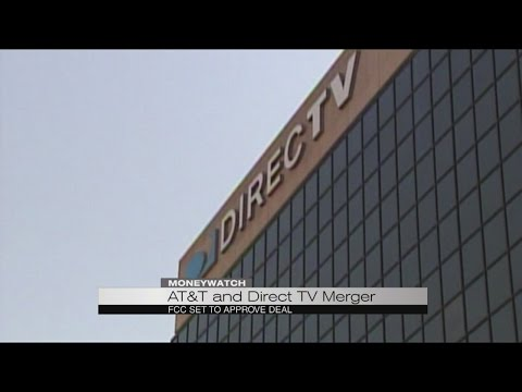 AT&T and DirecTV to merge