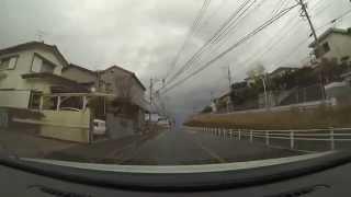 車載ビデオカメラ鹿児島【西陵〜広木〜田上台】