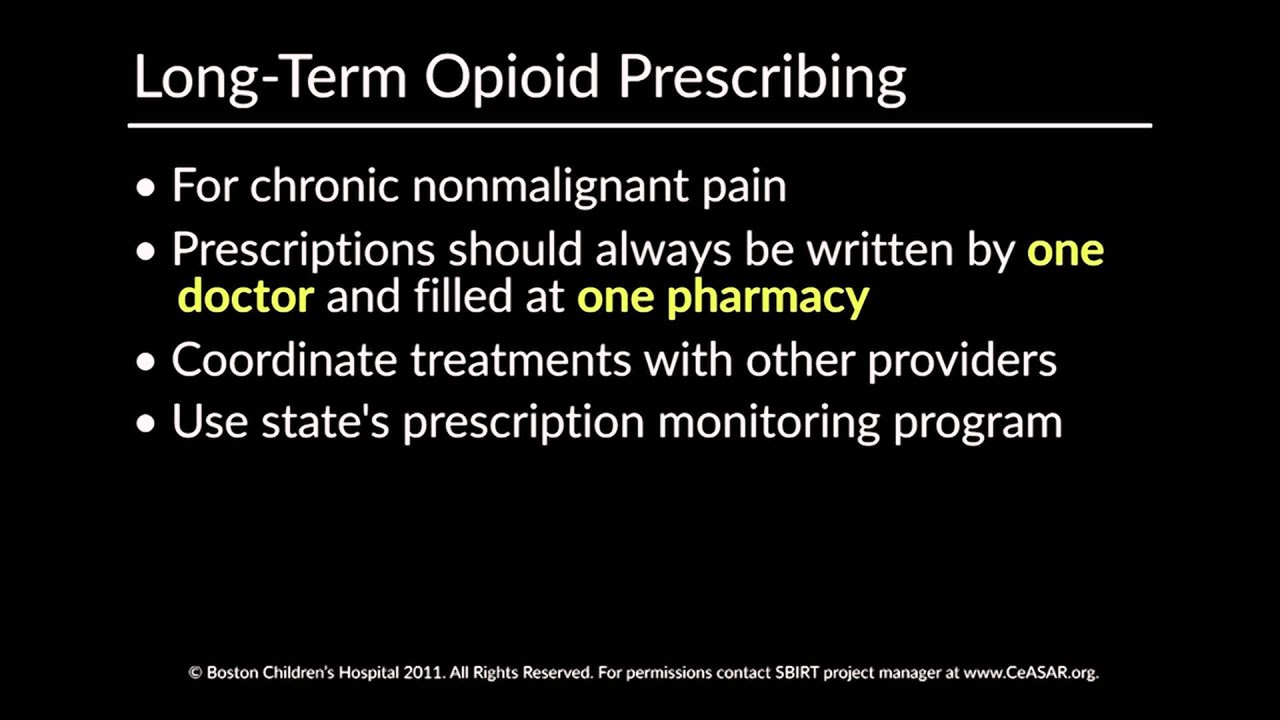opioid prescribing for chronic pain achieving the right - HD1920×1080