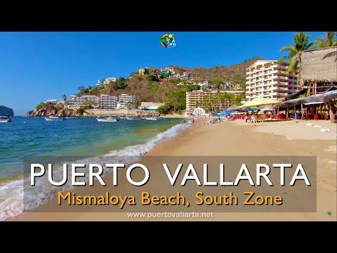 Stunning Mismaloya Beach, 20 minutes south of Puerto Vallarta, Mexico