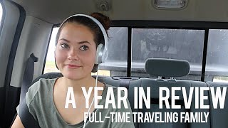 looking back at one year of traveling the country in an rv