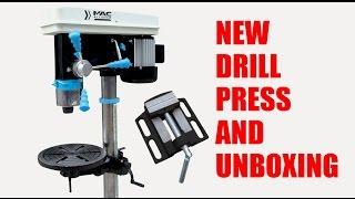 Drill Press Unboxing and Setup Mac Allister Sütun Matkap 700 watt