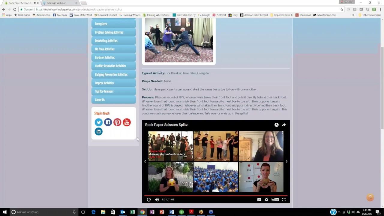 Training Wheels Online Games Database Sneak Peek Youtube
