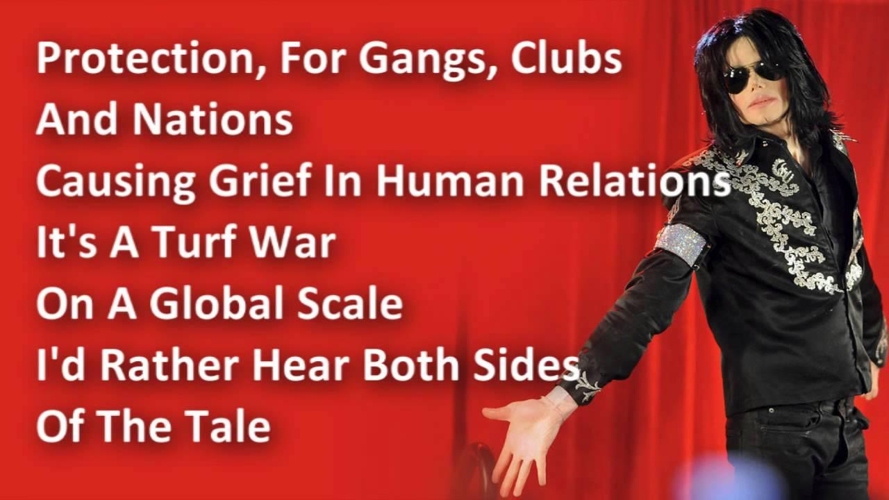 Michael Jackson - Black Or White - Lyrics - YouTube
