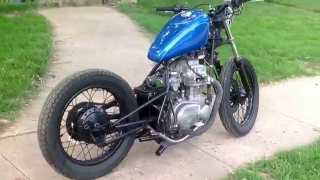 KZ400 Bobber Project