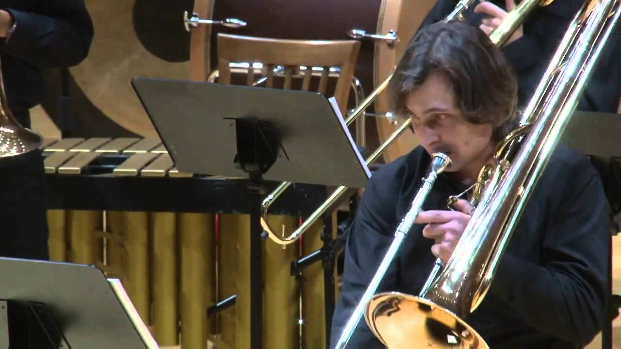 Contrabass trombone WinniethePooh and the Bees V