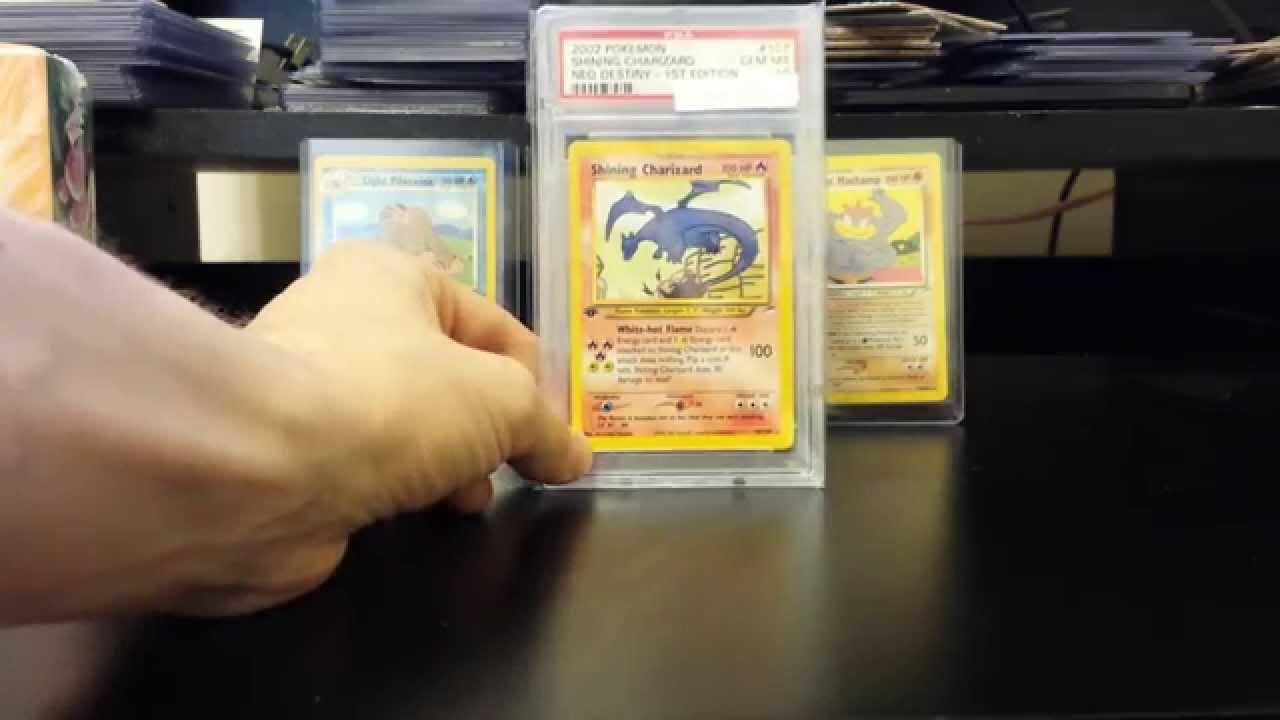 Bcbm Pokemon Psa 10 1st Edition Shining Charizard Neo Destiny Wotc