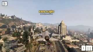 GTA V - All Knife Flight Locations