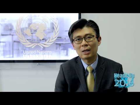 UNO Tashkent. HEADS UP 2016. JunhunCho - Country Manager of the World Bank in Uzbekistan