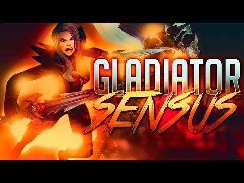 Sensus  Road to Gladiator! Legion Season 7 Glad Push! World of Warcraft Legion 3v3 Arena PvP