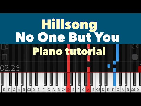 No One But You - Hillsong Piano Tutorial Instrumental Cover