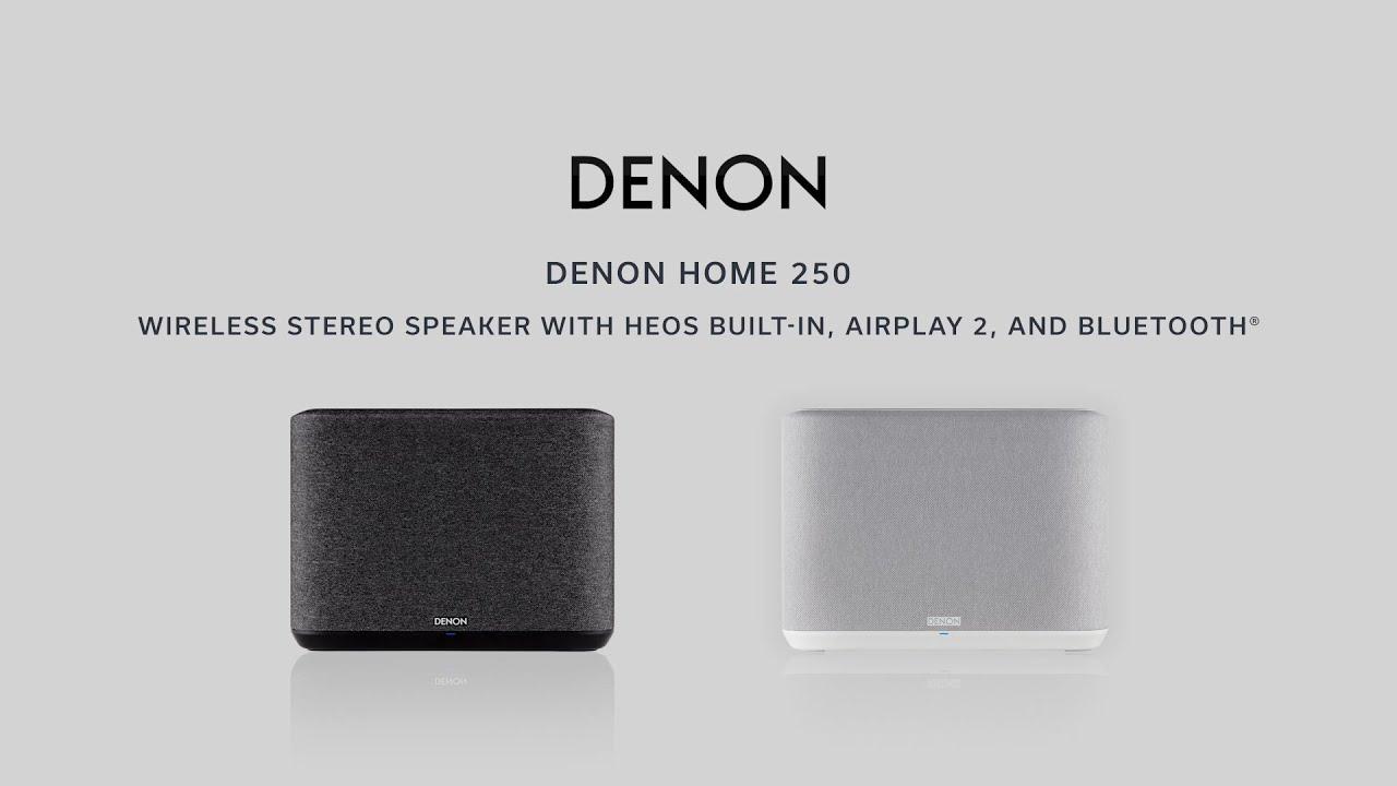 250 Mid-Sized Wi-Fi Speaker (Black) video thumbnail