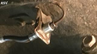 Как легко и просто заменить задний тормозной шланг на классике. Ремонт ВАЗ 2101-2107.