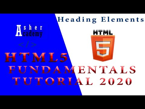 HTML Headding Element