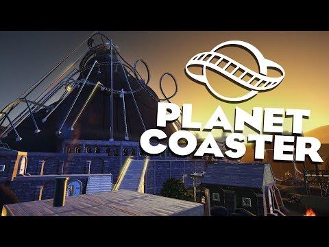 Planet Coaster Alpha 2 Gameplay - Coaster Mountain! - Let's Play Planet Coaster