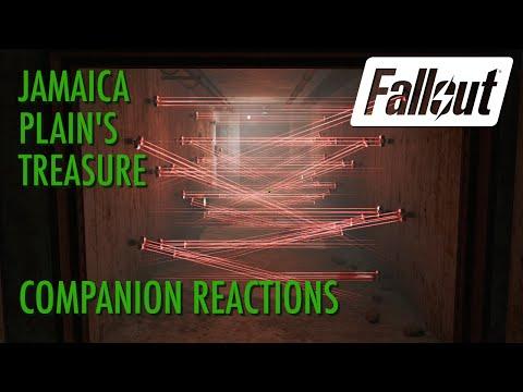 Fallout 4 - Companion Reactions to Jamaica Plain's Treasure