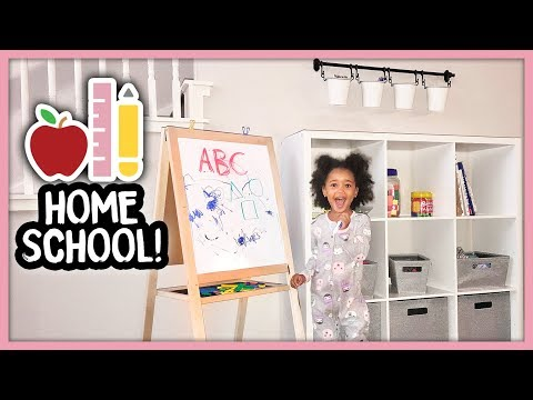 I'm Homeschooling My 2 Year Old | MOM VLOG