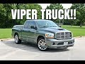 Modified 2006 Dodge Ram SRT-10 VIPER TRUCK REVIEW