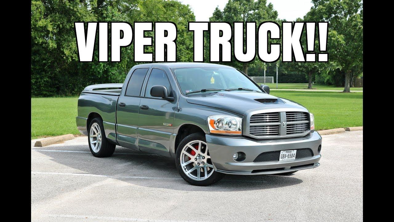 modified 2006 dodge ram srt 10 viper truck review youtube. Black Bedroom Furniture Sets. Home Design Ideas