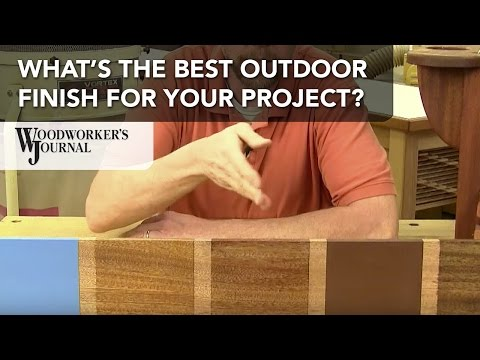 How to Choose the Best Finish for Outdoor Projects