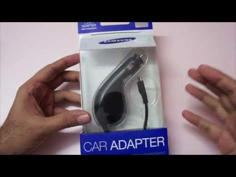 samsung-smartphone-car-charger-unboxing-&-review