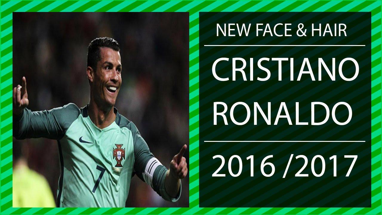 New Face Hair Cristiano Ronaldo Para Pes - New face hair cristiano ronaldo pes 2013