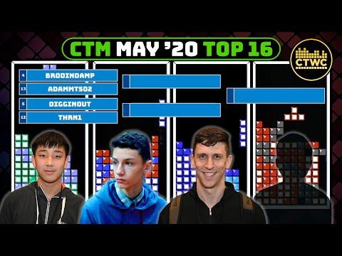 May 2020 CTM - Blue Bracket - Classic Tetris Monthly
