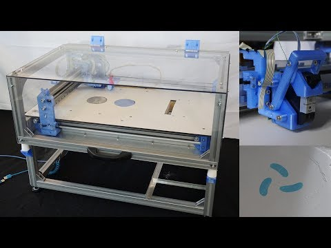 Oasis 3DP, an open source powder and inkjet 3D printer