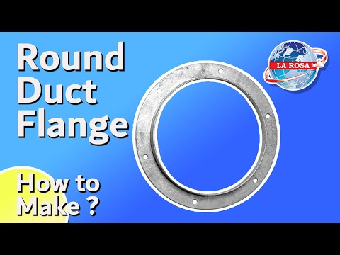 Round Duct Flange Machine - YouTube