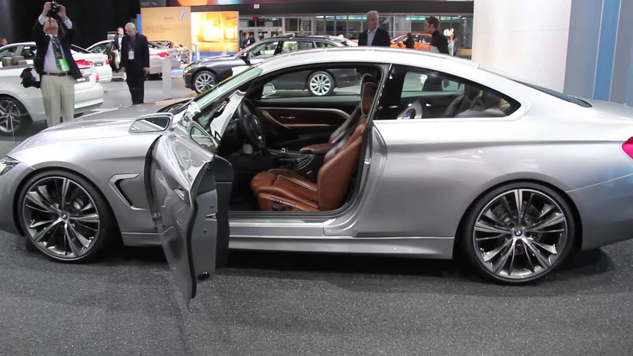 BMW 4 Series Coupe at 2013 Detroit Auto Show - YouTube