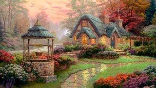 Make A Wish Cottage By Thomas Kinkade