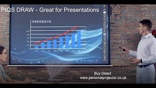 PIQS TT Projector for Business, Gaming and Home Cinema