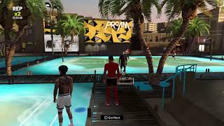 NBA 2k20 park, best slasher build #DEMIGOD
