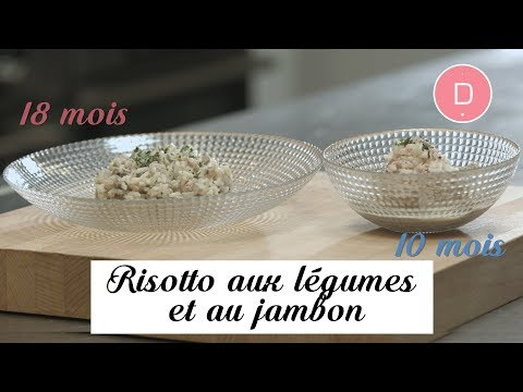 risotto-aux-légumes-et-au-jambon-–-recette-bébé-10-mois-/-18-mois