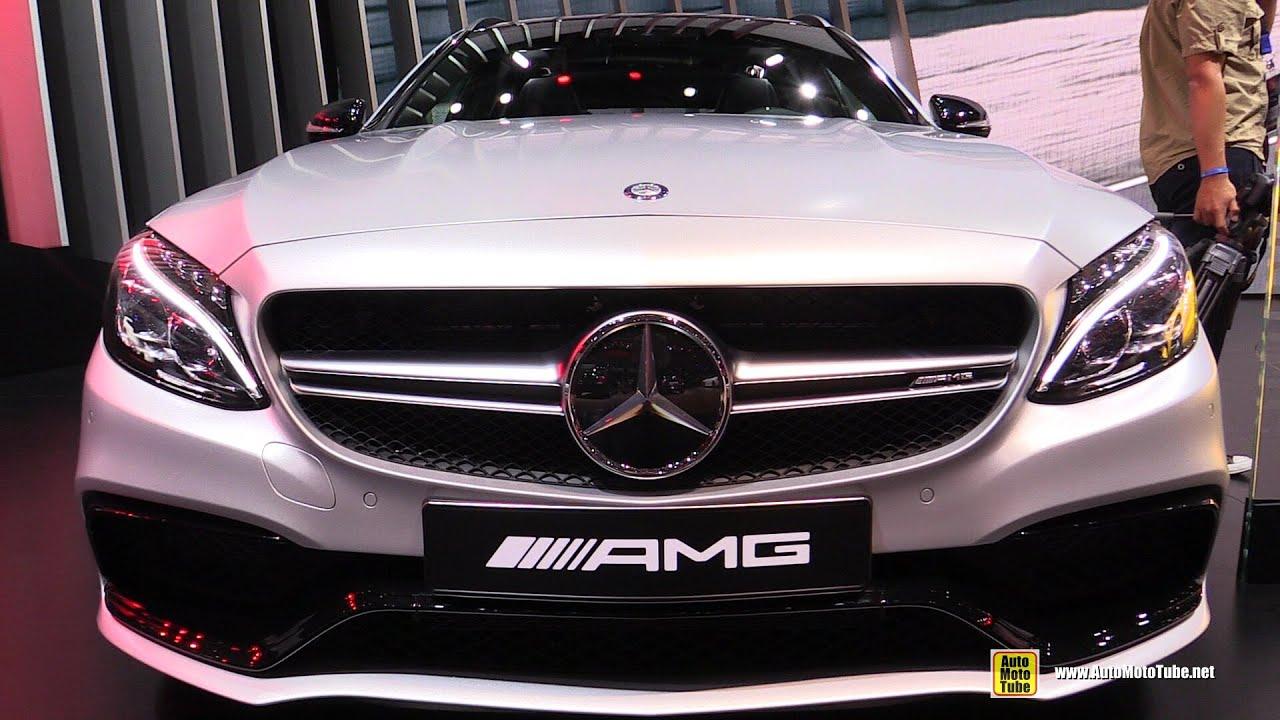 2015 Mercedes-Benz C63 AMG S Wagon - Exterior, Interior ...  2015 Mercedes-B...