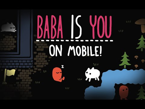 Baba Is You - Mobile release trailer