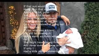 A Little More Summertime  Jason Aldean lyrics video