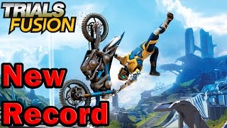 Trials Fusion Gameplay ITA Walkthrough #1 - Nuovo Record : Fly Away 2  - PS4 Xbox One Pc