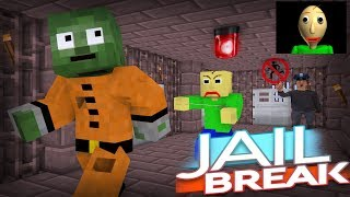 Monster School | BALDI'S JAIL BREAK | Monster School