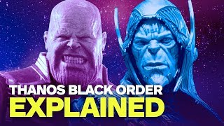 Children of Thanos Explained - Who Are Avengers: Infinity War's Black Order?