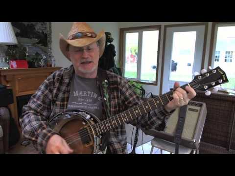 215b -  Wagon Wheel  - Old Crow Medicine Show cover with guitar chords and lyrics