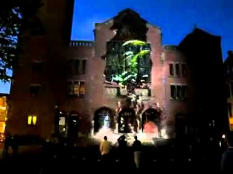 Awesome 3-D Building Projections [ By Jony Group ✔].mp4
